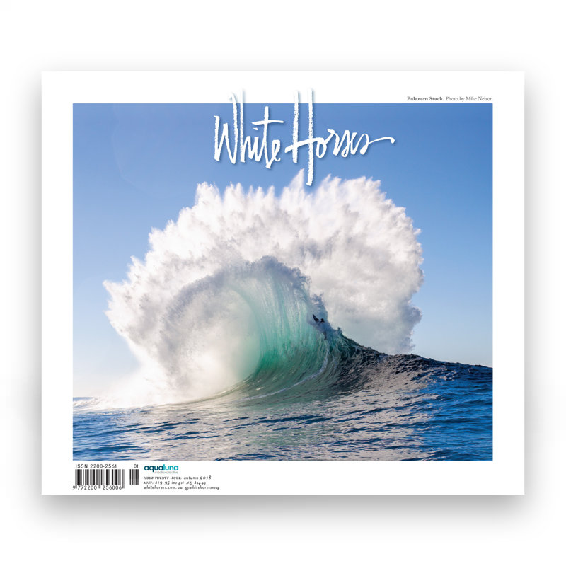 White Horses Issue 24 Cover